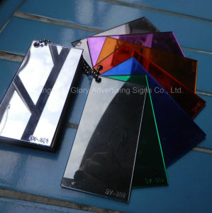 Mirror Acrylic Sheet/Adhesive Sheet Mirror/Plastic Mirror Sheet pictures & photos