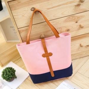 2017 Bolsas Ladies Large Canvas Casual Handbags Shoulder Tote Bags pictures & photos