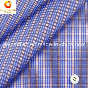 Cotton & CVC & T/C Yarn Dyed Woven Check Shirting Fabric for Shirt or Blouse 40s 50s 60s 70s 80s 120s