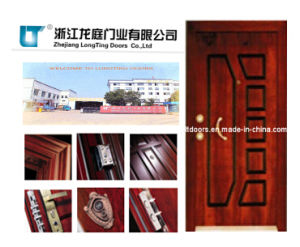 Turkish Style Steel Wooden Armored Door Factory pictures & photos