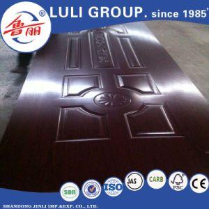 Veneer Melamine HDF Door Skin From China Luli Group pictures & photos