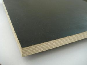 Brown & Black Poplar Film Coated Plywood pictures & photos
