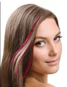 Wholesale Beautiful Real Feather Hair Extension for Women pictures & photos
