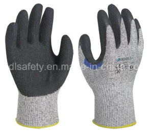 Reinforced Anti-Cut Work Glove with Natural Latex Dipping (LD8050) pictures & photos