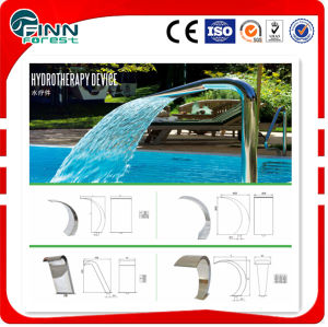 FL Stainless Steel Swimming Pool Water Blade Waterfall pictures & photos