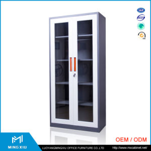 China Supplier Office Furniture Knock Down Swing Door Steel Office Cabinets pictures & photos