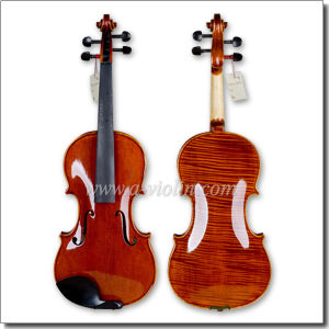 Wholesale Quality Chinese Painted Flamed Violin (VH200H) pictures & photos