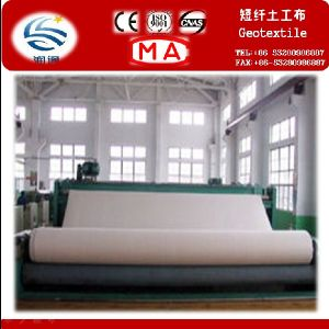 Staple Fiber Needle Punched Nonwoven Geotextile