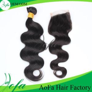 Weaving Human Hair Extension Brazilian Virgin Hair pictures & photos