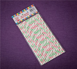 Christmas Paper Drinking Straws pictures & photos