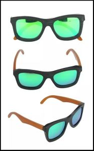 New Fashion Design Popular Wooden Brand Sunglasses pictures & photos