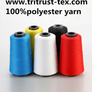 Spun Polyester Sewing Thread for Jesans and T-Shirt pictures & photos