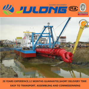 Factory Direct 6′′-20′′ Cutter Suction Dredger Hydraulic/ISO/Diesel/Riverfor Sale