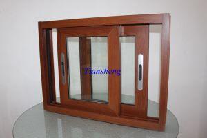 Double Glasses Aluminum Sliding Window pictures & photos