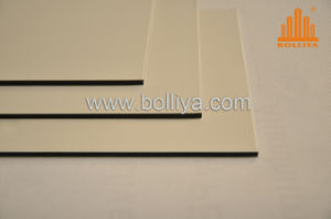 Aluminum Curtain Wall Partion/ Composite Plate (SL-1824 Yellow White) pictures & photos