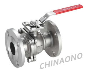ANSI Turnion Stainless Steel Ball Valve with Flange pictures & photos