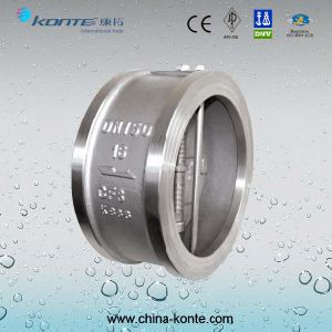 H76 Wafer Type Double Disc Swing Check Valve pictures & photos