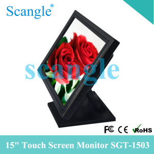 Sgt-1503 15 Inch 5 Wire Resistive POS Touch Screen Monitor pictures & photos