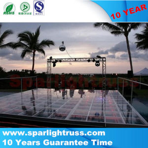 1.22*1.22m Glass Stage/Transparent Stage (YS-1110-2) pictures & photos