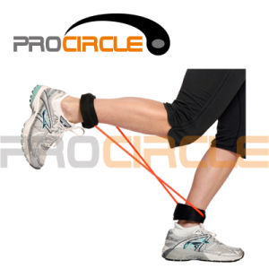Crossfit New Style Ankle Cuffs Resistance Loop Band (PC-RB1035) pictures & photos