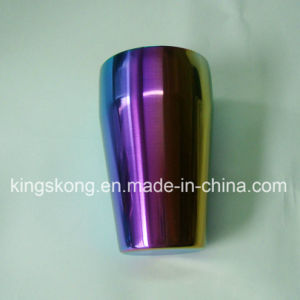 Personalized Rainbow Color Stainless Steel Cocktail Shaker Thanks Gift 550ml UK pictures & photos