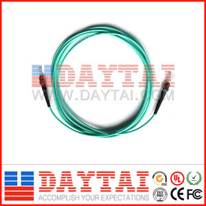 Om3 Multi Mode ST/PC Fiber Optic Patch Cord pictures & photos
