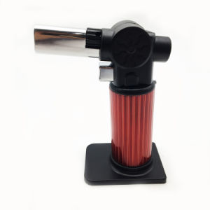 Windproof Jet Flame Refillable Torch Cigar Lighter Survival Tools (ES-TL-015) pictures & photos