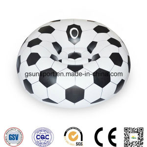 Customised PVC Inflatable Soccer Sofa Football Sofa Bed