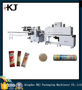 China Automatic Film Upper-Feeding Heat Shrink Packaging Machinery pictures & photos