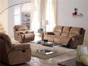 Leather Sofa Bed 897# pictures & photos
