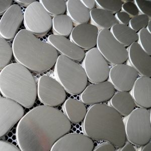 Irregularity Stainless Steel Metal Mosaic Tiles pictures & photos