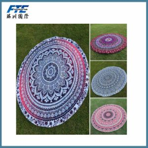 Wholesale Round Beach Towel with High Quality pictures & photos