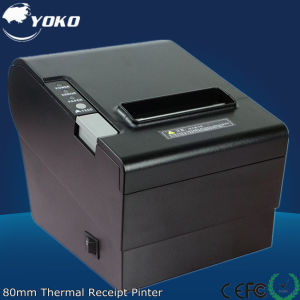 80mm Receipt Printer with LAN/USB/RS232 Port pictures & photos