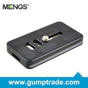 Mengs® Dp70 Camera Quick Release Plate for Video Camera DSLR, 1/4 Inch Mounting Screw (14010003701)