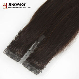 Top Quality European Remy Tape Weft Hair Extension pictures & photos