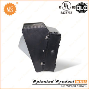 UL Dlc 150W LED Wall Pack with Milky Cover