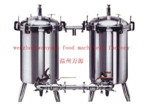 Food Grade Stainless Steel Sanitary Dual Duplex Filter pictures & photos