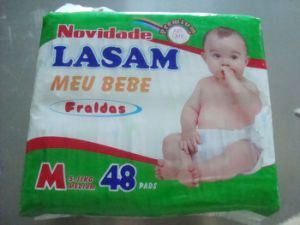 Cheapest Price Lasam Baby Products Disposable Baby Diapers Manufacturer pictures & photos