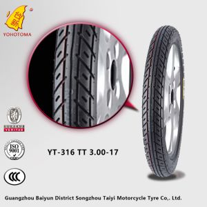 Motorcycle Parts Market Supply Motorcycle Tyre Yt-316 Tt3.00-17 pictures & photos