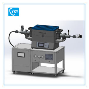 Laboratory High Pressure &Temperature Tube Furnace with Three Gas Way Mixer-Cy-Fh-S150 pictures & photos