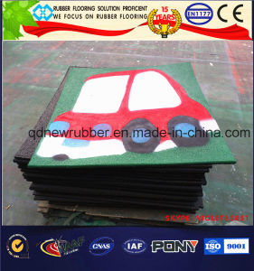 Cartoon Pattern Rubber Tiles, Rubber Mat pictures & photos