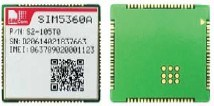 SIM5360 WCDMA GSM GPRS Edge Module Solution in a SMT Type Which Supports HSPA+ up to 14Mbps for Downlink Data Transfer 3G Module