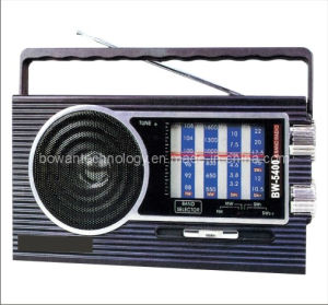FM/AM/SW1-3 5 Band Radio Receiver (BW-5400)