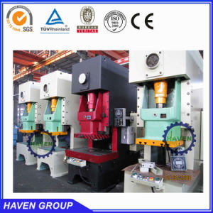 JH21 open back press machine with good quality pictures & photos