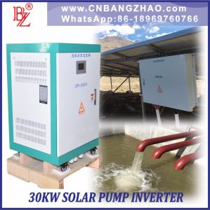 3 Phase AC Pumps Motor Inverter with AC Input for 30HP Pump Solar System pictures & photos