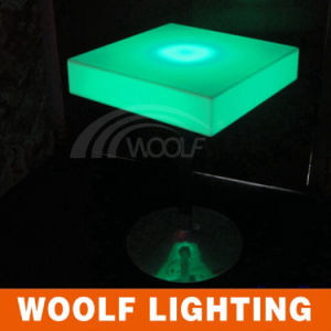 Decor LED Table/Fancy Glowing Square Table pictures & photos