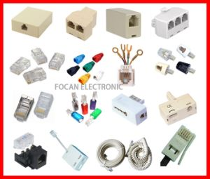 Telephone Connector, Telephone Plug, RJ45, Rj11, Rj12, Connectors, Wired Jack, PCB Plug 623k, 623k 616e 623 pictures & photos