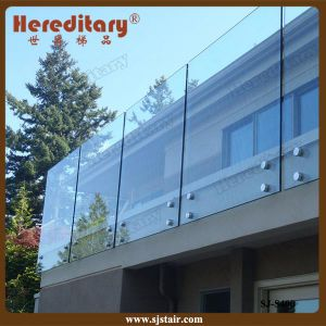 Building Glass Standoff Railing System Stainless Steel Balcony Handrail for Decor (SJ-S400) pictures & photos
