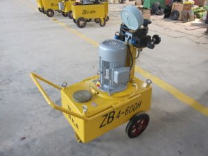 3kw 42L Hydraulic Single Circuit Heavy Duty Electric Pump Zb4-600h pictures & photos