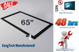 "65"" Infrared Multi Touch (10 Points) Screen Panel (X-65-10)"
